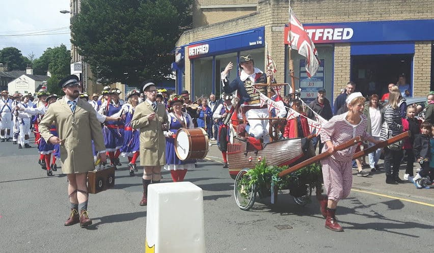 Another successful Folk Festival for Cleckheaton!