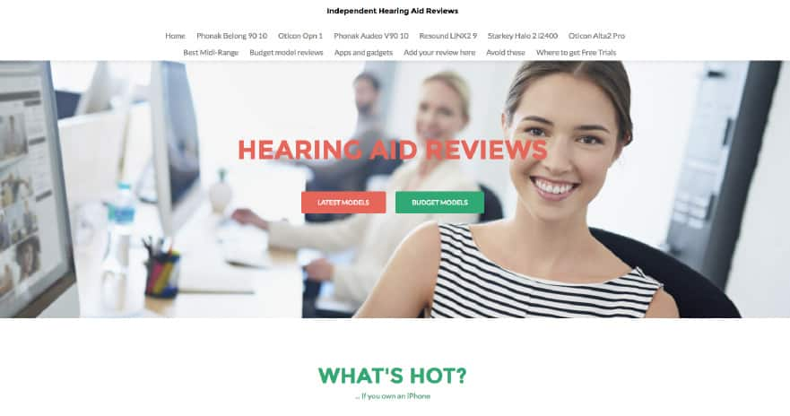 Hearing aid review: our new website for technology-based hearing aid reviews (Featured PHONAK VENTURE, OTICON OPN, RESOUND LiNX2)
